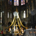 19) The altar of Notre Dame Cathedral
