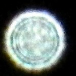 38a) Sample of the many colors the orbs come in and the concentric circle patterns appearing inside the orb.
